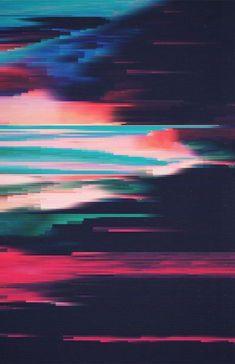 Adam Flynn, Glitch art, Colourful pixels are distorted through pixel sorting algorithms Glitch Art, Glitch Kunst, Art And Illustration, Textures Patterns, Print Patterns, Cover Design, Design Art, Graffiti, Magazin Design