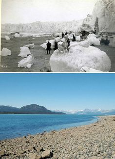 You all know earth is warming up, but these 7 images will show you some real effects of global warming. See how global warming is changing the face of earth Save Our Earth, Save The Planet, Our Planet, Fonte Des Glaciers, Alaska, National Geographic, Effects Of Global Warming, Greenhouse Effect, What The World