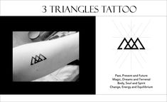 awesome Geometric Tattoo - coolTop Geometric Tattoo - small geometric tattoo meanings Check more at tattoov. Simbolos Tattoo, Dreieckiges Tattoos, Neue Tattoos, Arrow Tattoos, Trendy Tattoos, Body Art Tattoos, Tattoos For Women, Tatoos, Glyph Tattoo