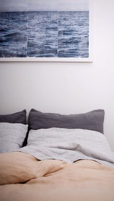 100% French Linen bedding. Ethically sourced and manufactured.