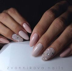 Wedding Nail Art Designs - Bling the Darker Shade of Pink - Beautiful And Classy Nailart and Nail Ideas for The Bride and The Bridesmaid that you will Love. These posts contain Ideas For French Manicures, Silver, Blue, Red, Pale Pink, Simple, And Sparkle Nail Ideas. There Are Step By Step Tutorials And Make For Awesome Bling For Weddings, Prom, Graduation, or any Event On The Town - http://thegoddess.com/wedding-nail-art-design