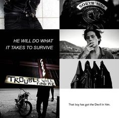 Serpent Jughead Aesthetic Riverdale ✪◍.... I loved that part on season one the last episode he puts the jacket on!!!!!makes him look 10x hotter