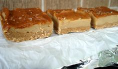 Paleo Cheesecake bars (no real cheese in it)