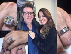 Amazing Jazz/Big Band Drummer, Bernie Dresel, & Beautiful Wife Picked These Pieces to Represent Their Love. @ritzjewelersla