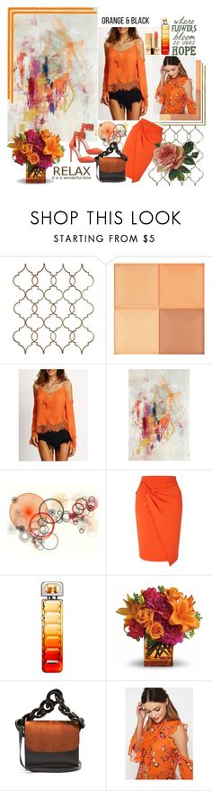 """""""Where the flowers bloom ... 🌼🌺🌸"""" by lawvel ❤ liked on Polyvore featuring Givenchy, Miss Selfridge, BOSS Orange, Marques'Almeida and Yves Saint Laurent"""