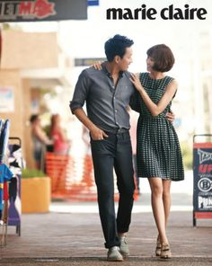Gong Hyo-jin and Ha Jung-woo. love them in Love Fiction <3