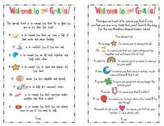 A fun and inexpensive gift for your students on the first day of school!