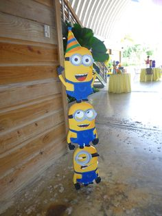 Minions Birthday Party Ideas | Photo 5 of 39. Dr. Laji James, Pediatric Dentistry in Houston, TX @ kidsdentistofhouston.com