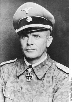 SS-Standartenführer Heinz Harmel, regimental commander in the…