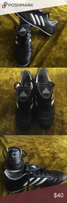 NWT Adidas Cleats Women's Size 7 1/2 Never worn. Just been sitting in my closet. Small flaw inside( seen in last photo) possibly removable! Super great condition. Open to offers! ❤️ adidas Shoes Athletic Shoes
