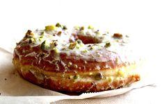 Glazed Pistachio Donut