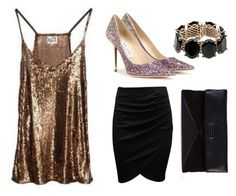 Glamourous by kocdori on Polyvore featuring Jimmy Choo, Marc by Marc Jacobs and Valentino