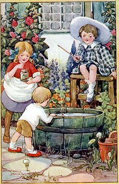 Sweet.  This is Anne Anderson.  Love her illustrations!