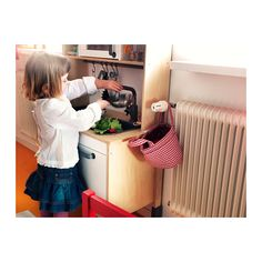 Increible!!  DUKTIG Mini-kitchen IKEA Encourages role play; children develop social skills by imitating grown-ups and inventing their own roles.