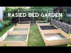 Raised Garden Beds - How To Start Gardening With Raised Beds Raised Vegetable Gardens, Vegetable Garden For Beginners, Vegetable Garden Design, Gardening For Beginners, Vegetable Gardening, Container Gardening, Gardening Tips, Building A Raised Garden, Raised Garden Beds