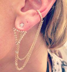 earrings Diamond Earrings, Bracelets, Necklaces, Jewelry Accessories, Fashion Jewelry, Bling, Jewels, My Style, Luxury