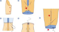 Inserting a liner - This is how you insert a liner Cut mode , Sewing Hacks, Sewing Tutorials, Sewing Projects, Projects To Try, Sewing Tips, Recycling Bins, Learn To Sew, Sewing Techniques, Mary Kate Olsen