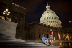 DC Engagement Session Capitol Hill | DC Wedding Photographer | DC Indian Wedding | www.mokaziphotography.com