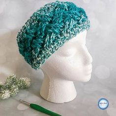 Crochet Celtic Winters Ear Warmer...  The color gradient of Lion Brand Scarfie yarn plus the elegant texture of the Celtic weave stitch make this ear warmer a quick and stunning piece! The Celtic Winters Ear Warmer takes less than one skein of Lion Brand Scarfie yarn and will be a perfect addition to your last-minute gift list this holiday season!