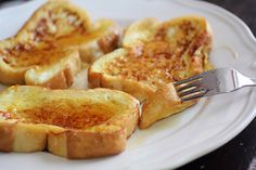 Adventuress : Eggnog french toast
