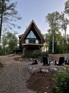 Way up north, under the big dipper, between the tall winding woods and the Gunflint Trail, perched on Devil Track Lake, stands The Minne Stuga, a chalet-frame, one part cedar-clad chalet and a couple parts A-Frame. It's a place to get lost and then found, to be bored and get inspired. A place to listen to the bonfire crackle, the crickets chirp, the birds sing, the tall trees whistle, and the big cats howl. Crickets Chirping, Big Dipper, Cozy Cabin, Minne, Big Cats, Devil, Woods, Track, Lost