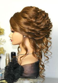 Love This Updo W Ringlets