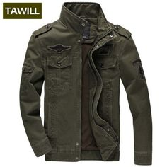 We add New Trandy items  TAWILL Men jacket...  http://www.possto.com/products/tawill-men-jacket-jean-military-plus-6xl-army-soldier-cotton-air-force-one-male-brand-clothing-spring-autumn-mens-jackets-8331?utm_campaign=social_autopilot&utm_source=pin&utm_medium=pin