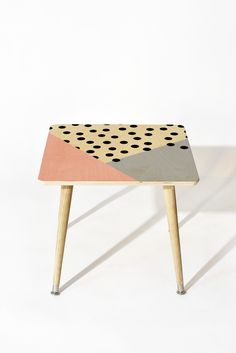Allyson Johnson Mod Rose Pink Side Table   DENY Designs Home Accessories