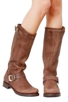 "FRYE Veronica Slouch Boot  ""Good boots ain't cheap & cheap boots ain't good."""