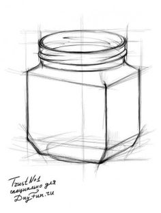 7 Adventurous ideas: Old Vases Display geometric vases plant pots. Pencil Art Drawings, Realistic Drawings, Big Vases, Clear Vases, Large Vases, Mini Vase, Vase With Lights, Vase Design, Vase Crafts