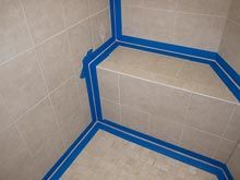 How to Professionally Re-Caulk a Tile Shower - Diy for Houses Travertine Shower, Shower Grout, Shower Mold, Shower Tiles, Bathroom Caulk, Mold In Bathroom, Bathroom Ideas, Bathrooms, Basement Bathroom