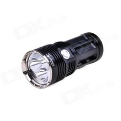 UltraFire UF-80 3-Mode 2050lm Cool White Flashlight w/ 3 x Cree XM-L U2, Strap - Black (4 x 18650). Note: We are currently unable to ship to addresses in HongKong, mainland of China.. Tags: #Lights #Lighting #Flashlights #LED #Flashlights #18650 #Flashlights