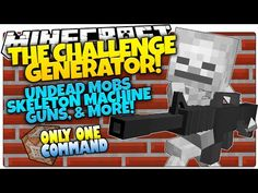 Minecraft | NATURAL DISASTERS | Meteors, Poison, More! | Only One Command (Minecraft Vanilla Mod) - YouTube