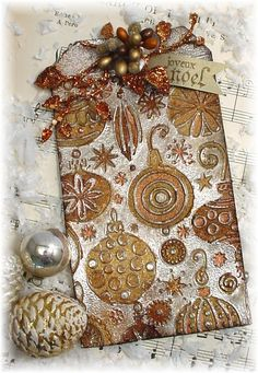 Trash to Treasure Art: Three more Tags of Christmas