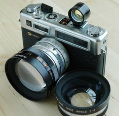 Yashica Electro 35 with Lenses