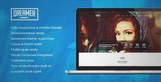 Download and review of Dreamer - Multipurpose Charity WordPress Theme, one of the best Themeforest Non-profit themes {Download & review at|Review and download at} {|-> }http://best-wordpress-theme.net/dreamer-multipurpose-charity-download-review/