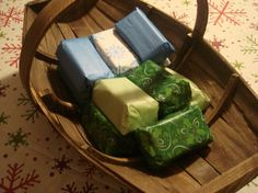 Wax and Wood Brick Fire Starters by JaxxCandles on Etsy
