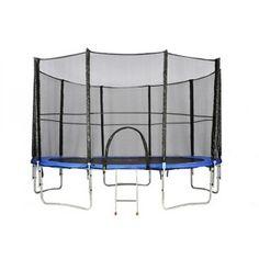 Trampolína 244 cm s bezpečnostní sítí ATHLETIC24 + DÁREK #trampolína #Athletic24 #trampolinyzahradni