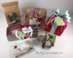 Gift Giving Collection by alystamps - Cards and Paper Crafts at Splitcoaststampers