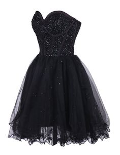 Ovitina Short Bead and Sequin Embellished Homecoming Cocktail Prom Dress Black us16. Fabric:Tulle. Description:We made this dress us high quality Tulle and the style is fashion,our aim is give our customer best!. Measures:when you please an order,you need to choose the size according to our size chart,and if you need to custom made,please leave us your meausres:bust,waist,hips,heigth with shoes.So that we can make fit you!. Similarty:We can make the dress 100% as pic,but because of the...