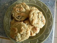 Chewy Baby Cereal Oatmeal Cookies. I have a box of baby cereal to use up!