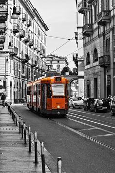 Torino Tram - Tram in the city of Torino.