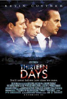 Thirteen Days :: A dramatization of President Kennedy's administration's struggle to contain the Cuban Missile Crisis in October of 1962.