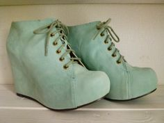 Little Petite: MINT color shoes
