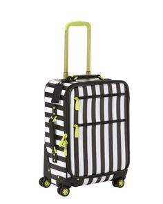 NM + Target Rolling Luggage by Alice + Olivia at Neiman Marcus. I picked this up the other day- love it for carrying my mobile spa things around in!