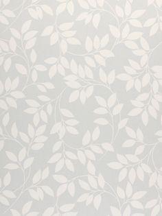 £22 Buy John Lewis Leaf Trail Wallpaper, Mineral online at JohnLewis.com - John Lewis