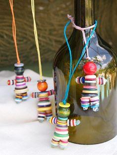 Bouton décoratif enfants