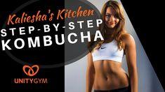 How To Make Kombucha - Step By Step Kombucha Making Made Easy Organic Kombucha, Kombucha Scoby, Kombucha How To Make, Unity, Make It Simple, Gym, Easy, Excercise, Gymnastics Room
