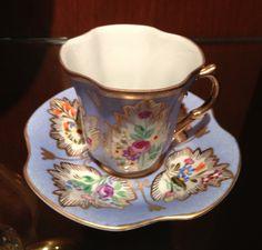 Handmade Turkish coffee cup