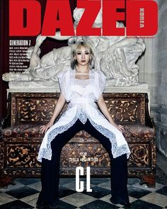CL x DAZED AND CONFUSED KOREA APRIL '16 ISSUE